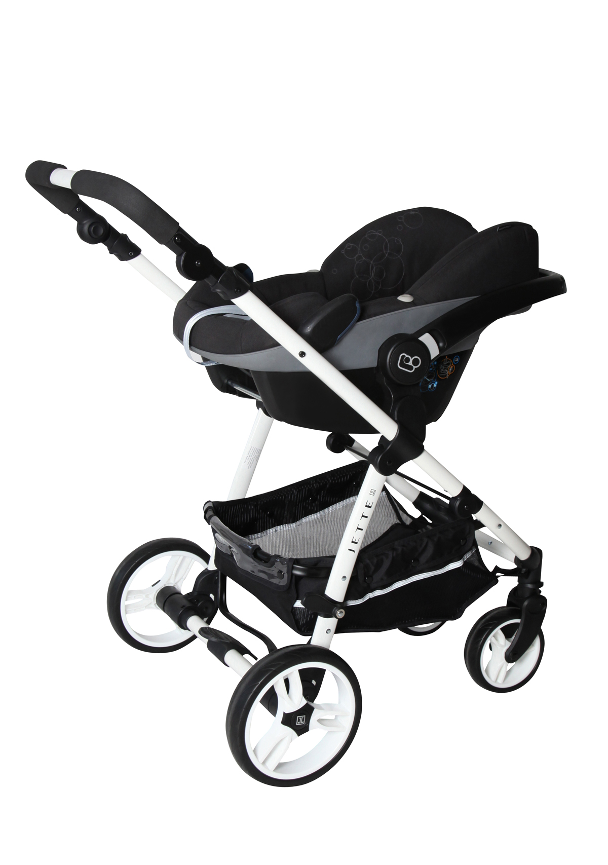 jeff mit babyschale jette kinderwagen. Black Bedroom Furniture Sets. Home Design Ideas
