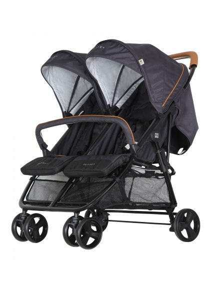 Jonathan fishbone graphite Kinderwagen